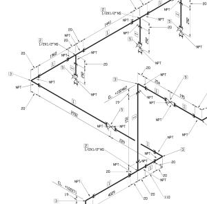 progettazione impianti meccanici, piping